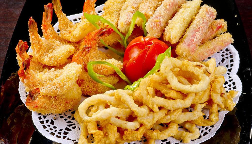 Новое блюдо из морепродуктов